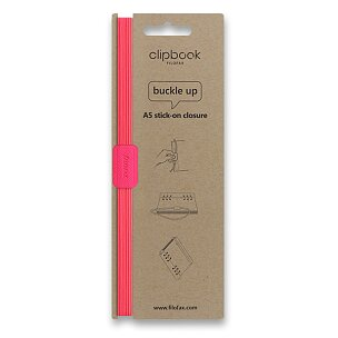Filofax Clipbook Fluoro, elastické zavírání A5
