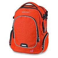 Školní batoh Walker Campus Evo Wizzard Red Melange