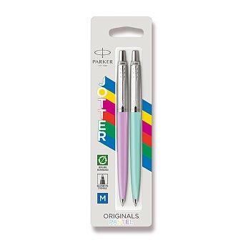 Obrázek produktu Kuličková tužka Parker Jotter Originals Pastel - fialová a zelená