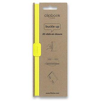 Obrázek produktu Filofax Clipbook Fluoro, elastické zavírání A5 - žlutá