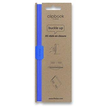 Obrázek produktu Filofax Clipbook Fluoro, elastické zavírání A5 - modrá