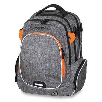 Obrázek produktu Školní batoh Walker Campus Wizzard Grey Melange