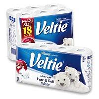 Toaletní papír Veltie Kleenex Pure & Soft White