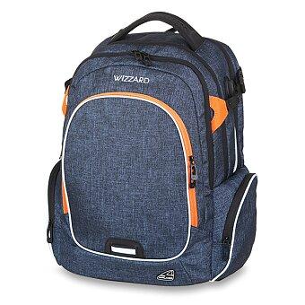 Obrázek produktu Školní batoh Walker Campus Wizzard Dark Blue Mel