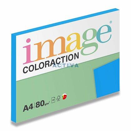 Obrázok produktu Image Coloraction - farebný papier - tmavo modrá, A4, 80 g, 100 l., Stockholm