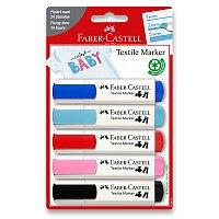 Popisovače na textil Faber-Castell