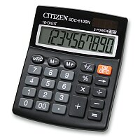 Kancelářský kalkulátor Citizen sDC-810BN