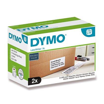 Obrázek produktu Dymo LW S0947420 - originální papírové štítky -102 × 59 mm