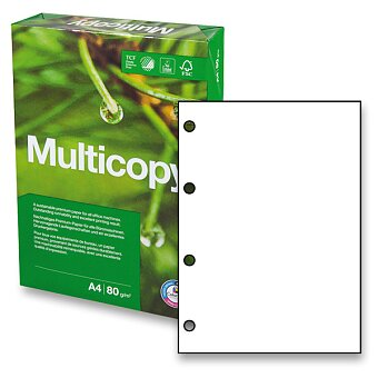 Obrázek produktu Kancelářský papír Multicopy Original 4 otvory - A4, 80 g, 500 listů