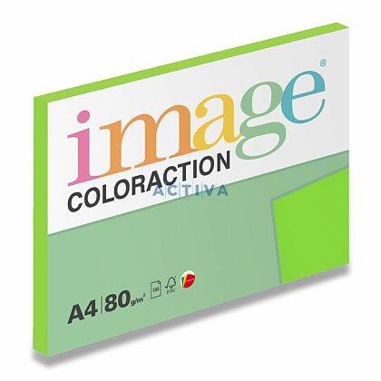 Obrázok produktu Image Coloraction - farebný papier - sýta zelená, A4, 80 g, 100 l., Java