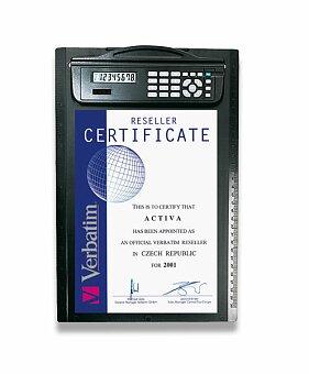 Obrázek produktu Psací deska s kalkulátorem Marksman Clipboard - A4, černá