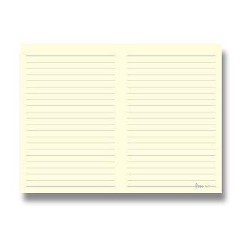 Obrázek produktu Linkovaný zápisník, silný - kapesní náplň Flex by Filofax