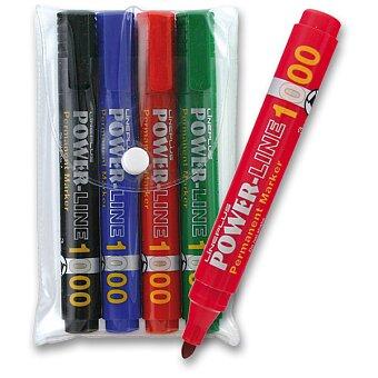 Obrázek produktu Permanentní popisovač Power 1000 - sada 4 barev