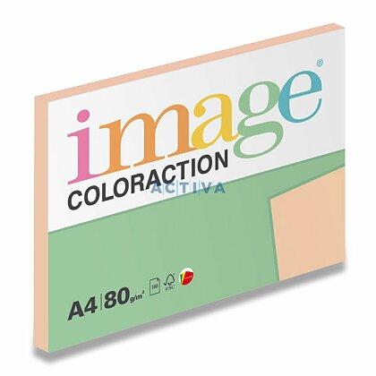 Obrázok produktu Image Coloraction - farebný papier - marhuľová, A4, 80 g, 100 l., Savana