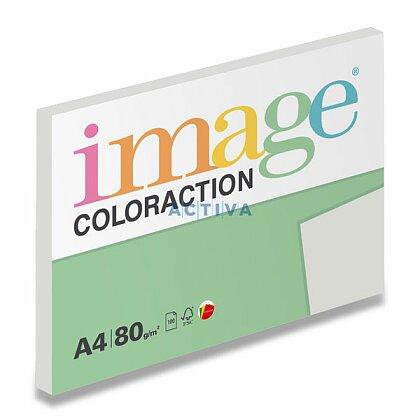 Obrázok produktu Image Coloraction - farebný papier - stredne šedá, A4, 80 g, 100 l., Iceland