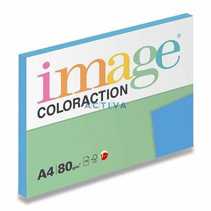 Obrázok produktu Image Coloraction - farebný papier - stredne modrá, A4, 80 g, 100 l., Malta