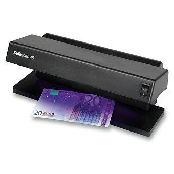 Obrázek produktu Detektor padělků bankovek Safescan 45