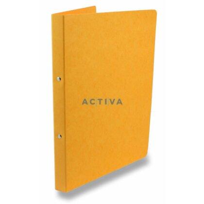 Obrázek produktu Esselte Prešpán - 4kroužkový pořadač - A4, 23 mm, žlutý