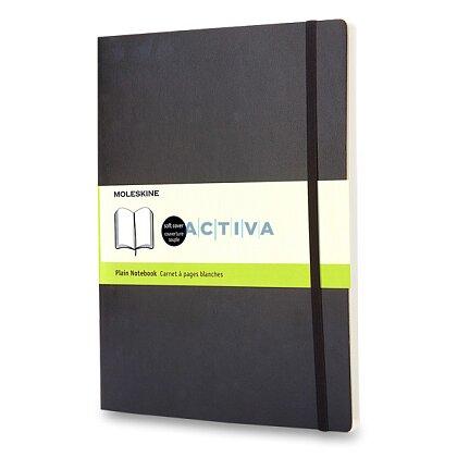 Obrázek produktu Moleskine - zápisník v měkkých deskách - 19 x 25 cm, čistý, černý
