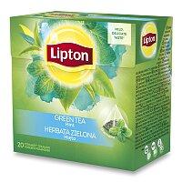 Zelený čaj pyramida Lipton Intense Mint Tea