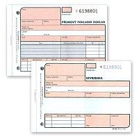 Příjmový pokladní doklad Optys 1081