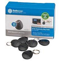Čipy pro registrační systémy Safescan