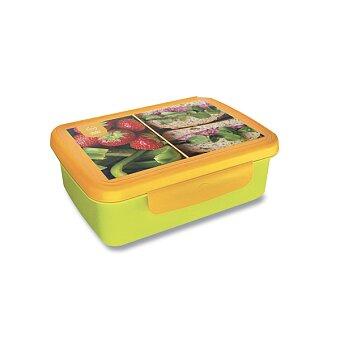 Obrázek produktu Svačinový box Zdravá sváča s recepty a kupónem - zelená/žlutá