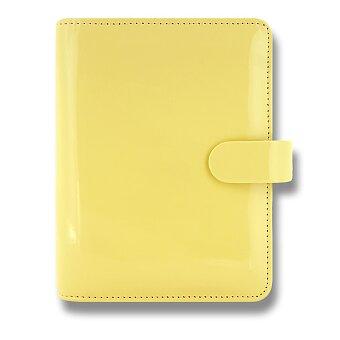 Obrázek produktu Kapesní diář Filofax Patent A7 - žlutý