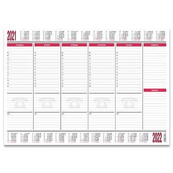 Obrázek produktu Papírová stolní podložka Bobo 2020/2021 - 590 x 420 mm, 30 listů