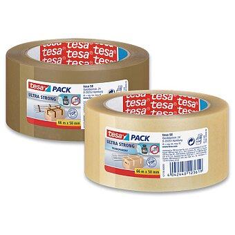 Obrázek produktu Velmi silná balící páska Tesa Ultra Strong - šíře 50 mm, návin 66 m, výběr barev