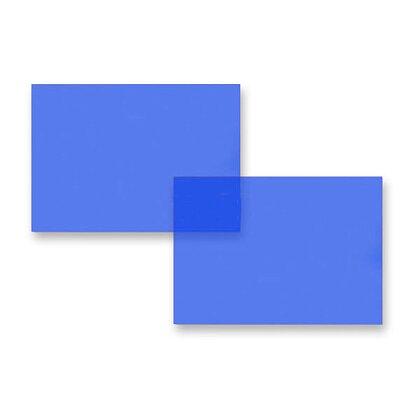 Obrázek produktu Přední strana pro kroužkový vazač - A4, 0,2 mm, 100 ks, modrá