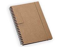 GARDEN - poznámkový zápisník s poutkem, 120 stran, výběr barev