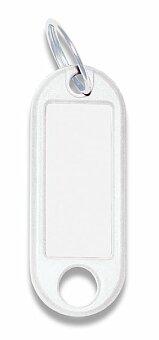 Obrázek produktu Jmenovka na klíče ConmetRON - bílé, 10 ks