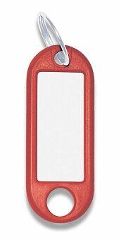 Obrázek produktu Jmenovka na klíče ConmetRON - červené, 10 ks