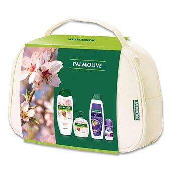 Obrázek produktu Dárková sada Palmolive Naturals Almond - kosmetická taška plná kosmetiky
