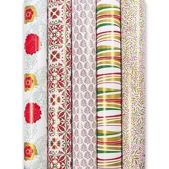 Obrázek produktu Dárkový balicí papír Alliance Vegetal - 2 x 0,7 m, mix motivů