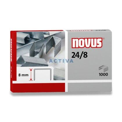 Obrázek produktu Novus 24/8 - drátky do sešívaček