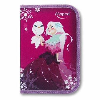 Obrázek produktu Penál Maped Tatoo - 1patrový, vybavený, motiv Princess