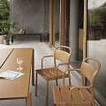 Židle s područkami Muuto Linear Steel Armchair