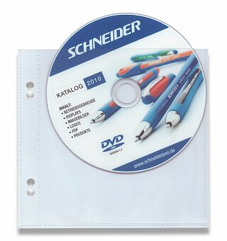 Obrázek produktu Zakládací obal na CD pocket - na 1 CD, 10 ks