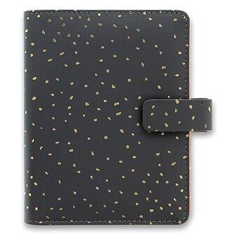 Obrázek produktu Kapesní diář Filofax Confetti Charcoal
