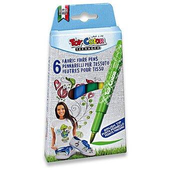 Obrázek produktu Fixy Toy Color Fabric Fibre - 6 barev