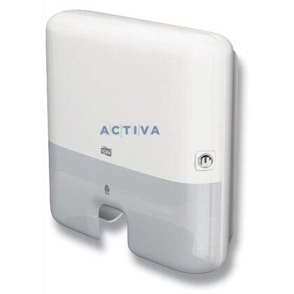 Obrázok produktu Tork Elevation Mini H2 - zásobník na skladané utierky - biely
