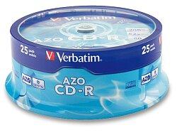 Zapisovatelné CD Verbatim CD-R