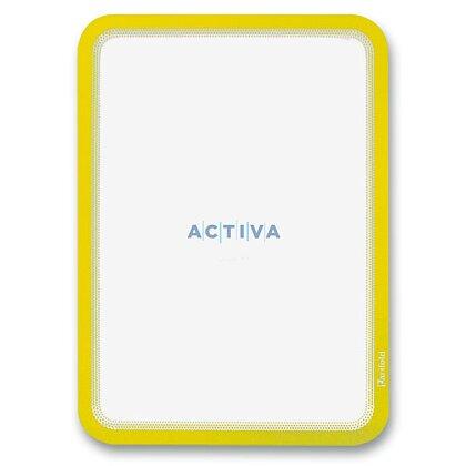 Obrázek produktu Tarifold Magneto - magnetická prezentační kapsa - A4, 2 ks, zářivě žlutá