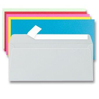 Obrázek produktu Barevná obálka Clairefontaine DL - samolepicí, 20 ks, výběr barev