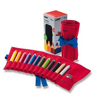 Obrázek produktu Pastelky Lamy 3plus - 12 barev, látkové pouzdro