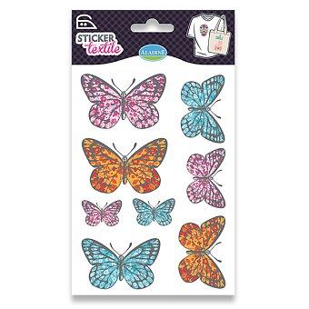 Obrázek produktu Nažehlovací nálepky na textil - Motýli