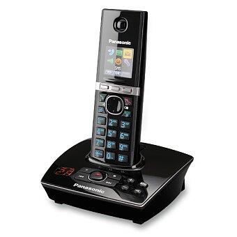 Obrázek produktu Bezdrátový telefon Panasonic KX-TG 8061 FX B - černý, se záznamníkem
