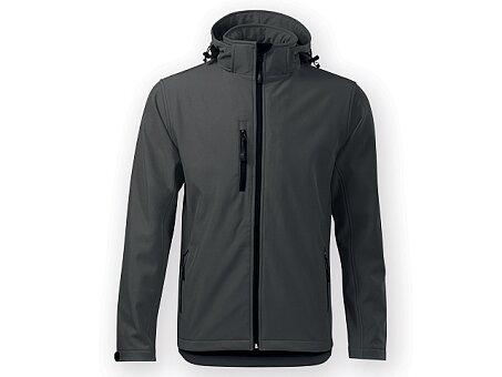 Obrázek produktu TREKING MEN - pánská soft. bunda, 300g/m2, vel.XL, ADLER, Ocelově šedá